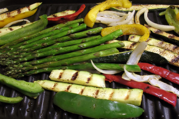 Grilled vegetables marinade recipes